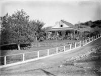 Irvine family home on Mokelumne Hill